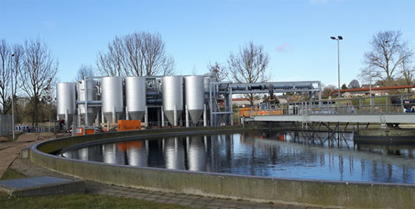 Waste Water Treatment Plant - Wijlre, the Netherlands